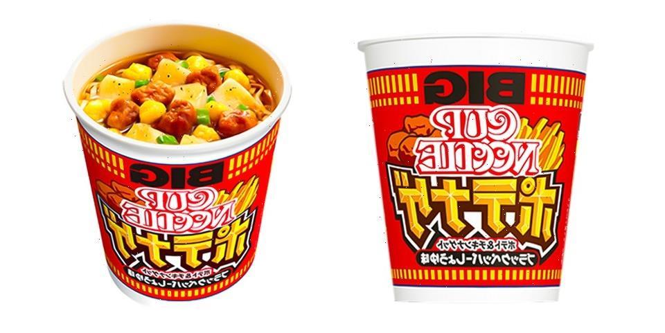 Nissin Cup Noodle Introduces Lemon Fried Chicken Instant Noodles