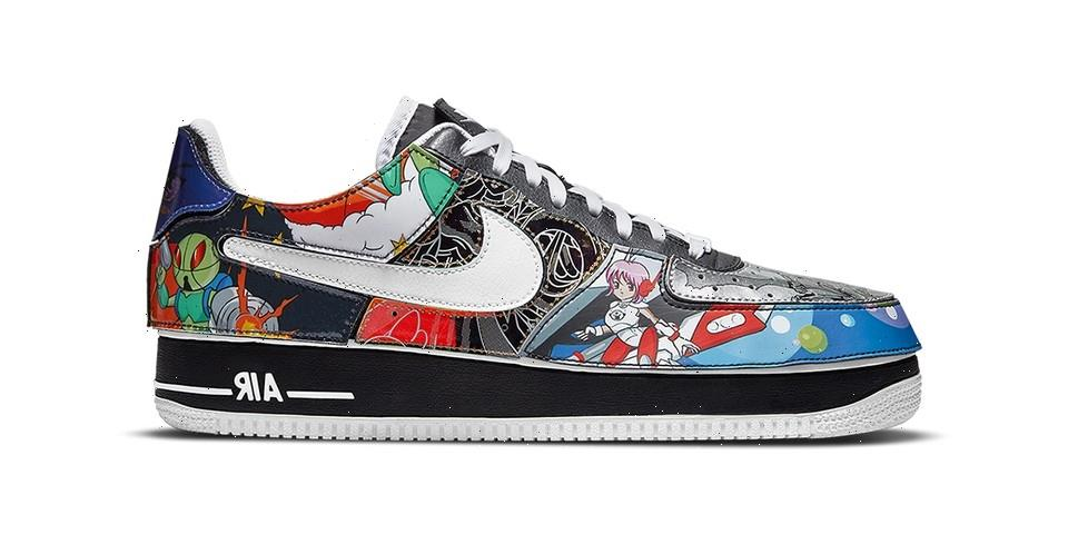 """Official Look at the Nike Air Force 1/1 """"Nike and the Mighty Swooshers"""""""