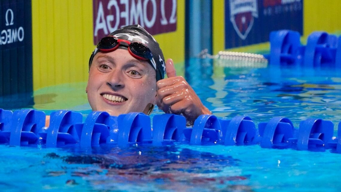 Opinion: Katie Ledecky makes history at Olympic trials; Caeleb Dressel just getting started