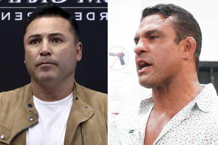 Oscar De La Hoya, 48, will fight ex-UFC champion Vitor Belfort, 44, in exhibition bout as September date is confirmed