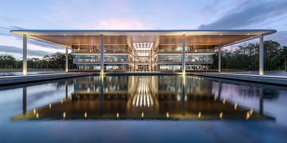 PGA TOUR Headquarters Unveils Expanded Natural Workspace In Ponte Verde, FL