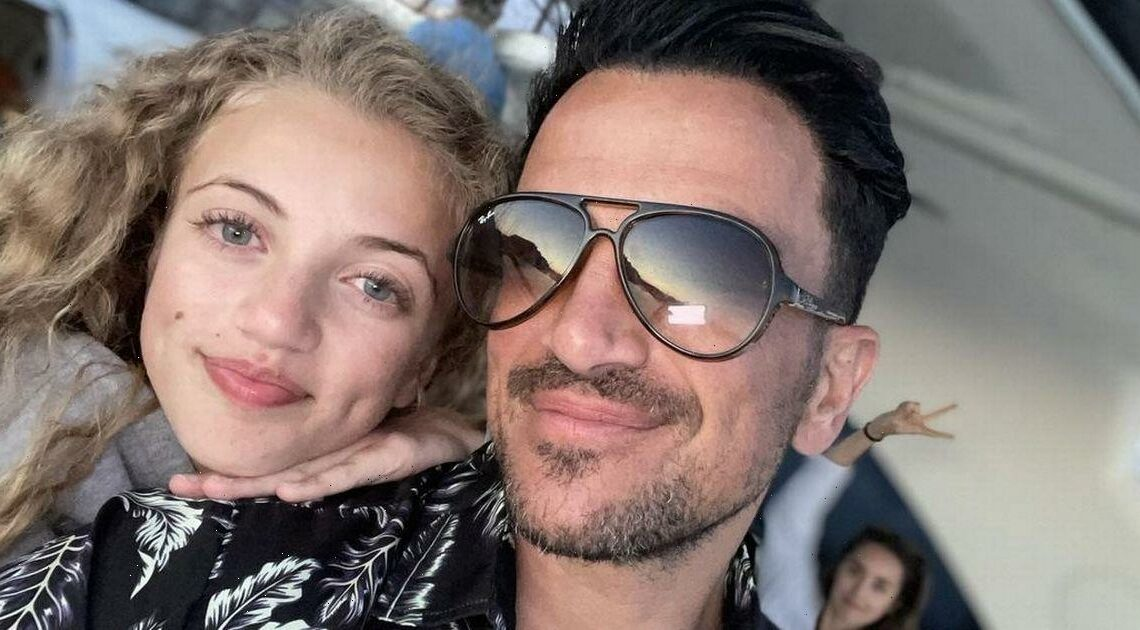 Peter Andre promises to 'get educated' after Princess was criticised for swim with dolphins