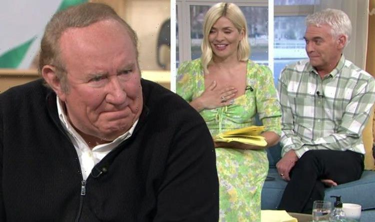 Phillip Schofield and Holly Willoughby leave Andrew Neil in tears 'You're so kind'