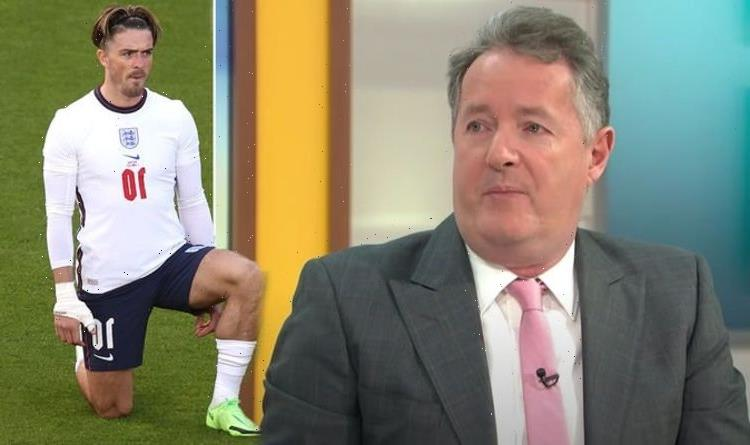 Piers Morgan blasts England football fans for boos 'The players should walk off!'