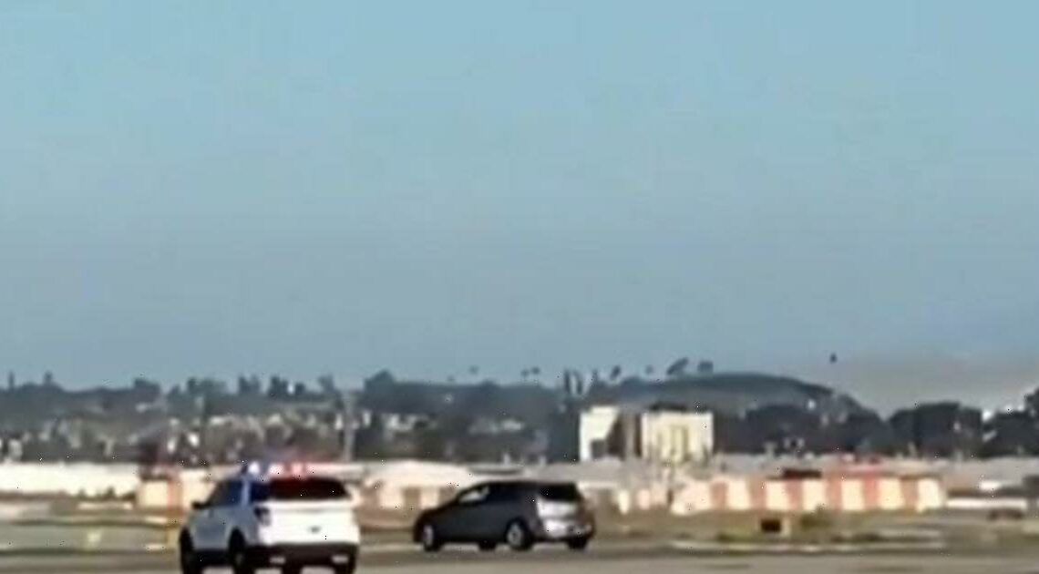 Police chase LAX intruder's car across two busy runways after major security breach
