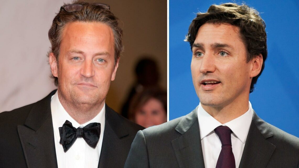 Prime Minster Friend Issues: The Matthew Perry vs. Justin Trudeau Grade School Fight