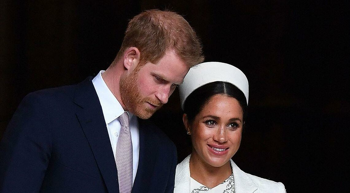 Prince Harry and Meghan Markle demoted on Royal family website