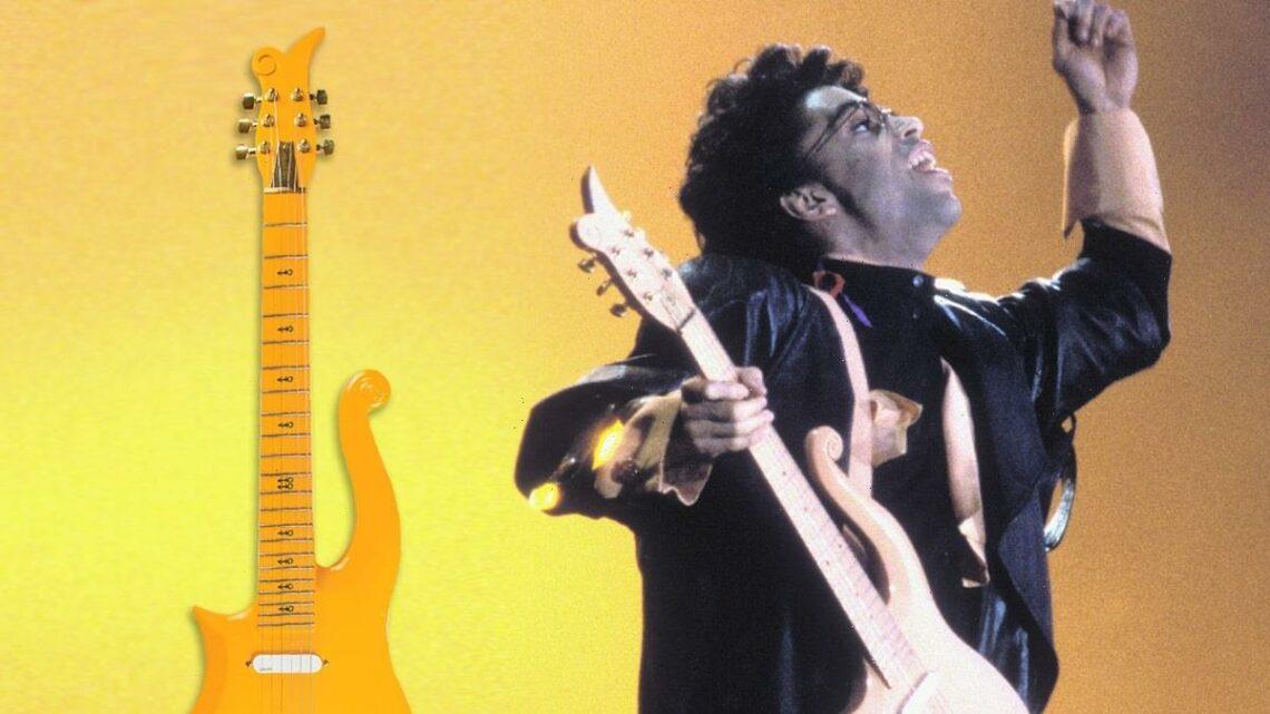 Prince's 'Purple Rain' Shirt, Cloud Guitar Expected to Fetch $60k Each