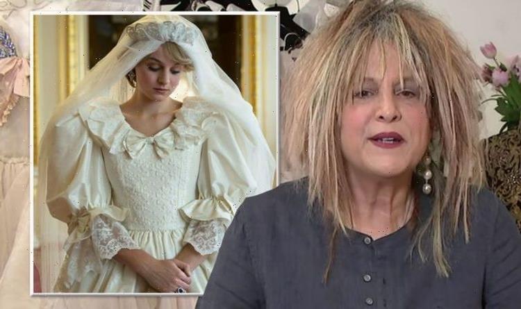 Princess Diana's wedding dress designer slams The Crown's replica: 'Not nearly as amazing'