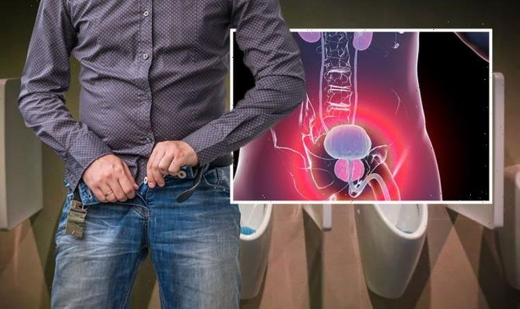Prostate cancer symptoms: The strength of your pee could be a warning sign