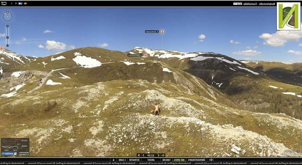 Randy couple caught having SEX on hike at 6,500ft by mountain webcam before snaps were reposted in software blunder