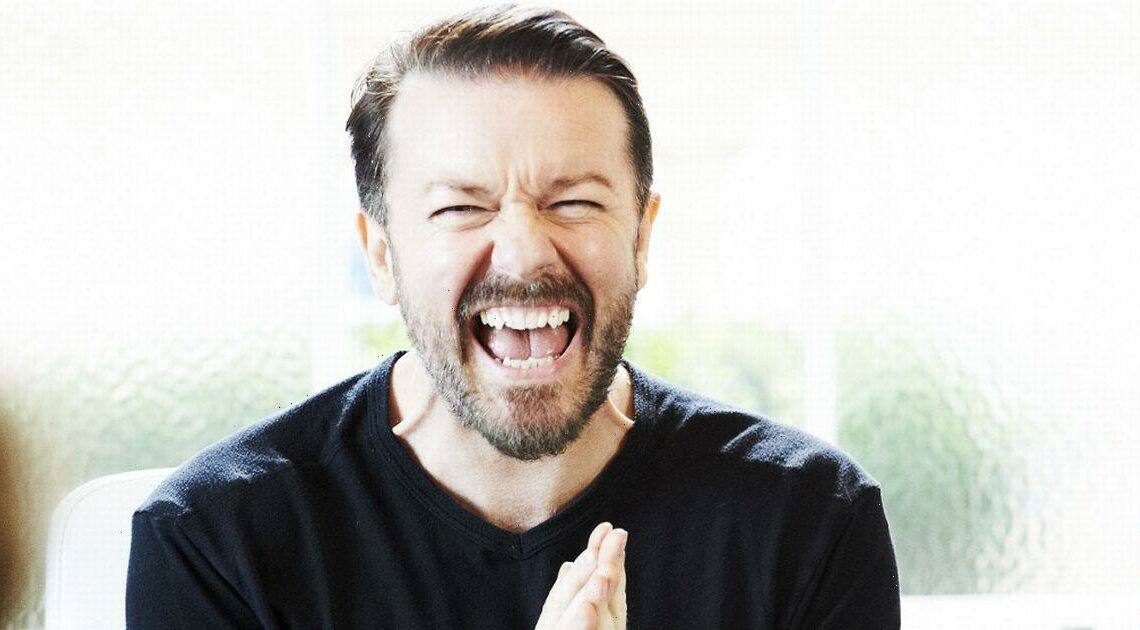 Ricky Gervais' life with £10million home, 80s pop past and famous girlfriend