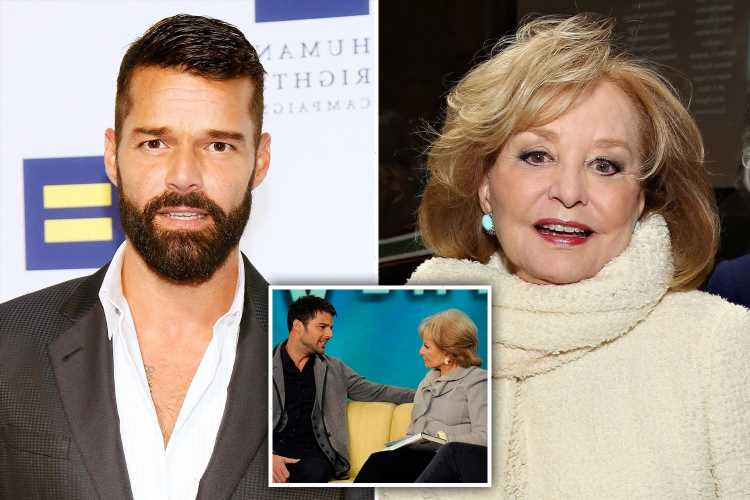 Ricky Martin admits he felt 'violated' when Barbara Walters asked if he's gay & claims he has 'PTSD' from the interview