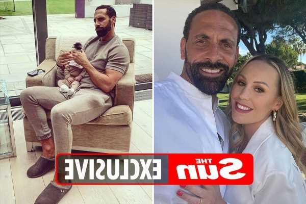 Rio Ferdinand says he's a 'strict, hands-on dad' as he opens up on life with Kate and new baby Cree