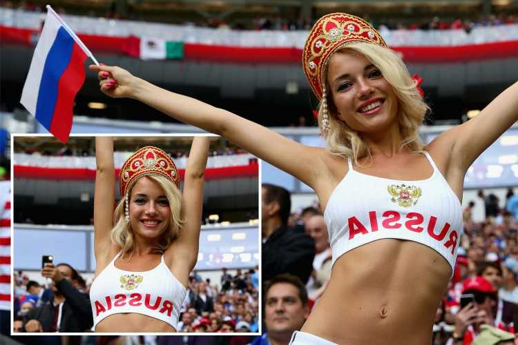 Russia boss bans 'beautiful girls' from Euro 2020 dressing room in blow to country's 'sexiest fan' Natalya Nemchinova