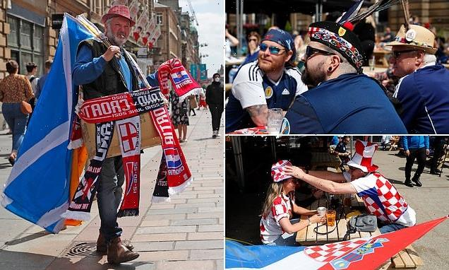 Scotland fans hit the pubs ahead of tonight's Euro 2020 clash