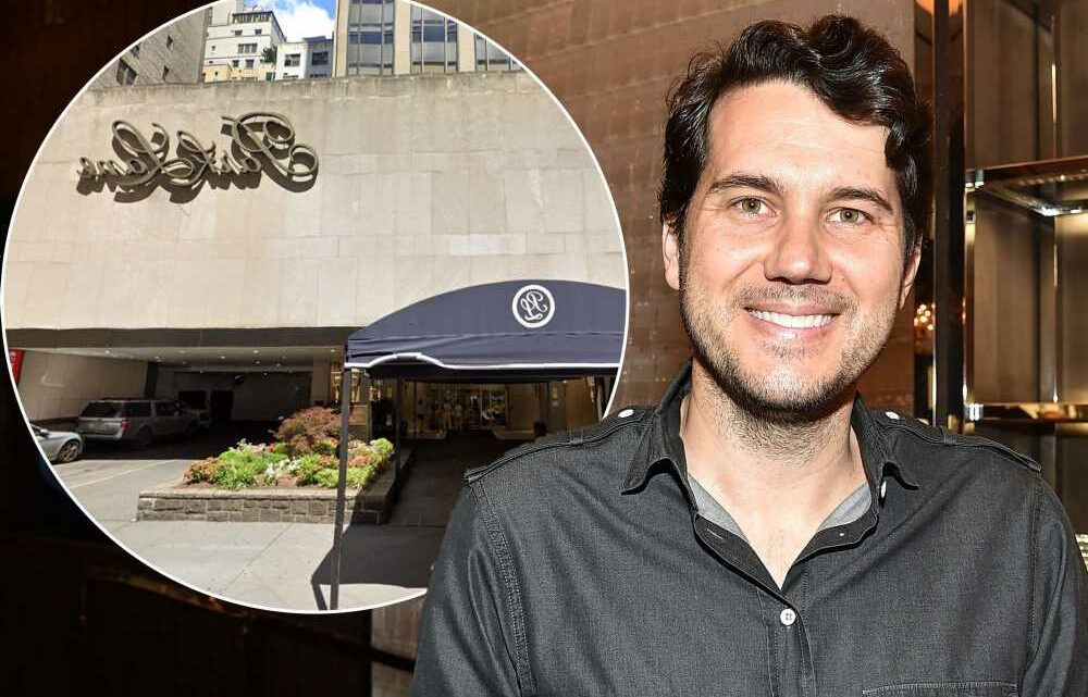 Scott Sartiano enlisted to create 3 new hotspots at Park Lane Hotel