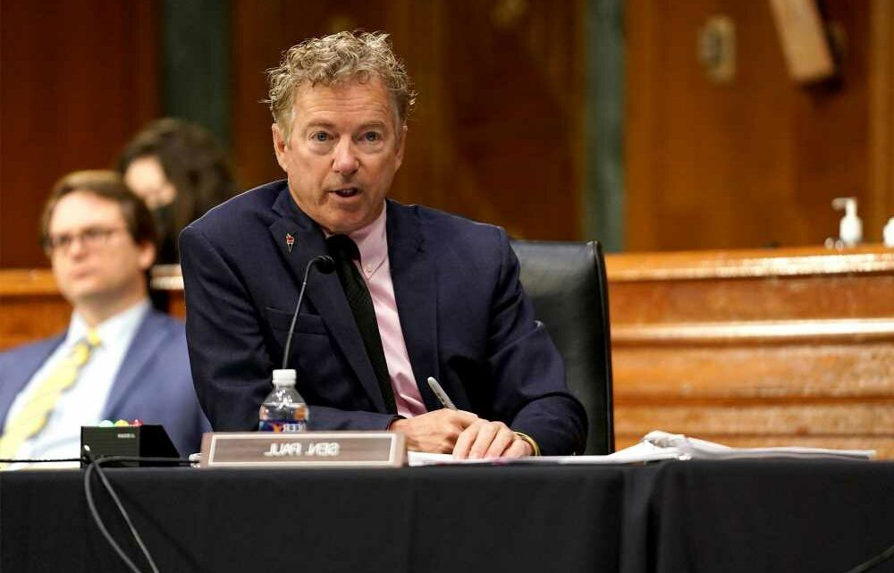 Sen. Rand Paul says he's gotten death threats over clashes with Fauci