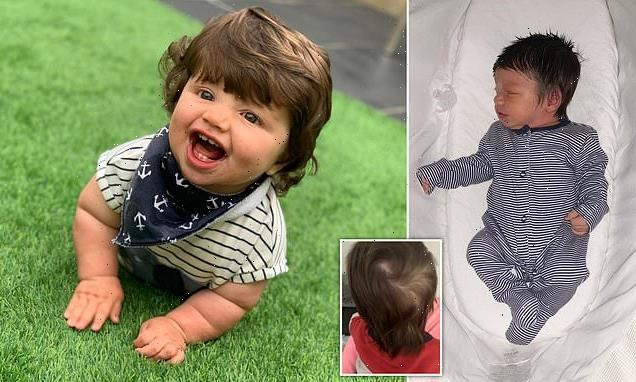 Seven-month-old baby mistaken for a toddler due to his head of hair