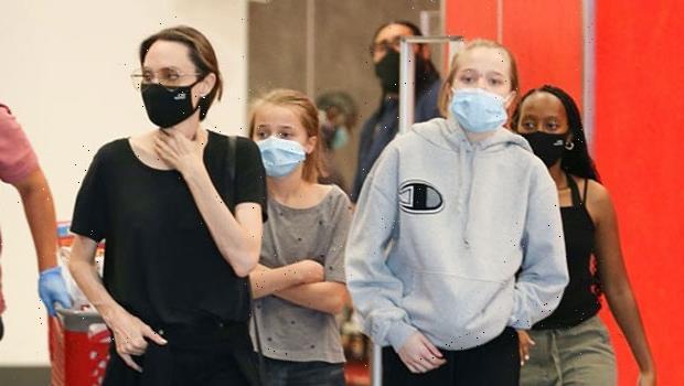 Shiloh Jolie-Pitt, 14, Looks So Tall Celebrating Mom Angelina Jolie's 46th Birthday With Siblings — See Pics