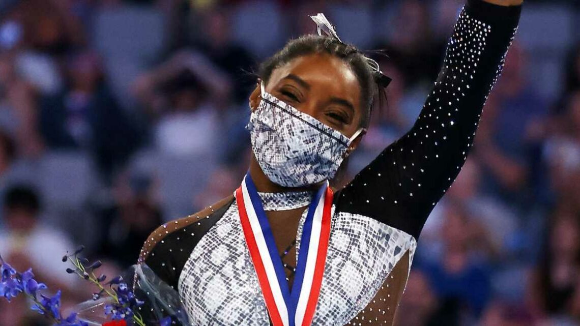 Simone Biles Is the First Woman to Win Seven U.S. Championship Titles