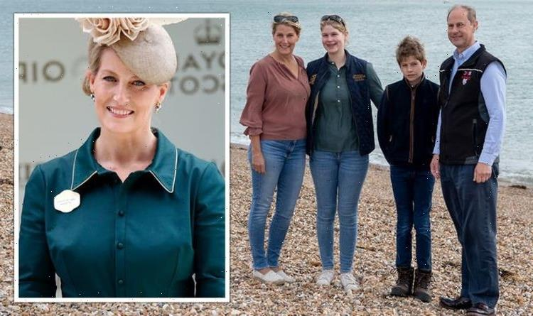 Sophie, Countess of Wessex uses 'go to' parenting technique on Lady Louise and James