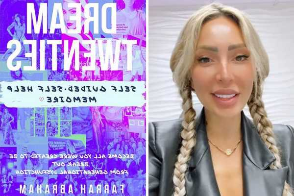 Teen Mom fans slam Farrah Abraham for spelling errors in new book that are 'so bad' readers 'thought it was a joke'