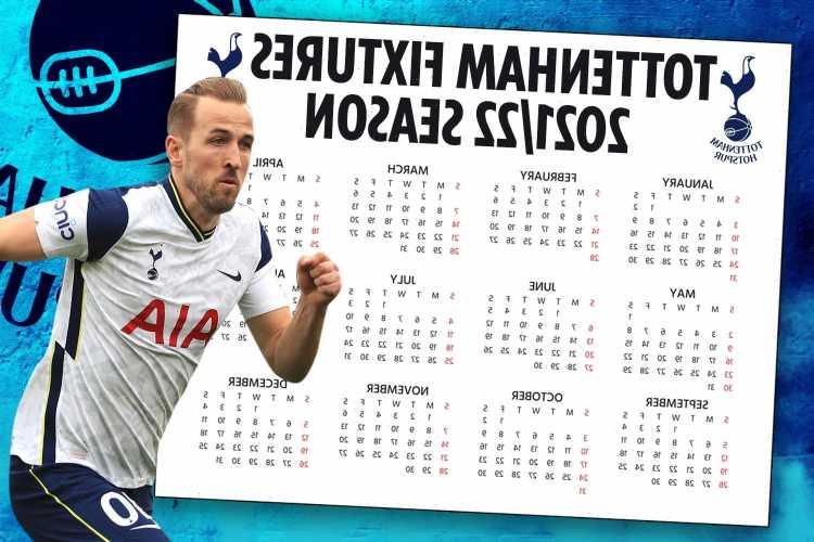 Tottenham Premier League fixtures 2021/22: Spurs in horror start against reigning champs Man City as fixtures released