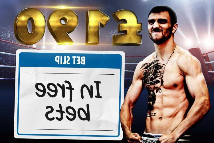 Vasyl Lomachenko vs Masayoshi Nakatani odds: Get £190 in free bets for Las Vegas showdown