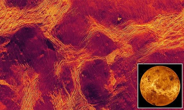 Venus may still be geologically active after experts spot moving crust