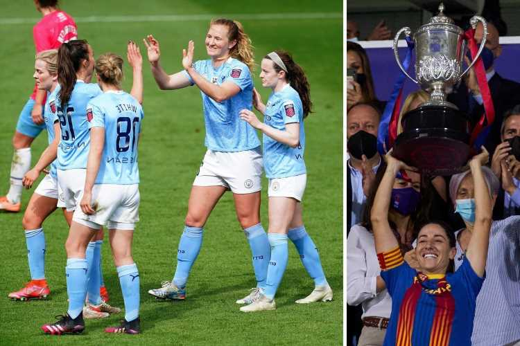 Vicky Losada bids emotional farewell to Barcelona after treble win amid rumours of Man City links