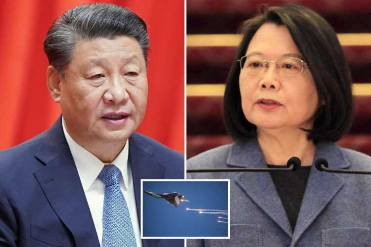 WW3 fears after China vows it WILL invade Taiwan if it seeks independence as US Navy puts on show of force