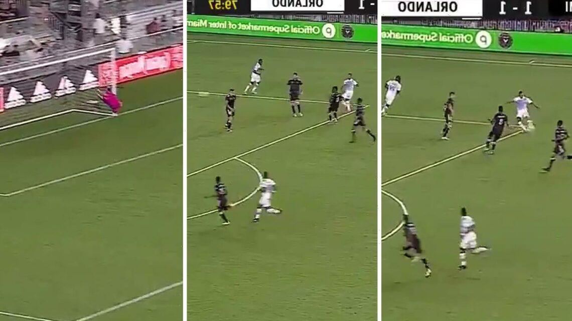 Watch Man Utd old boy Nani score stunning winner for Orlando City against David Beckham's Inter Miami in Florida derby