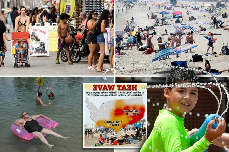 Western heat wave 2021: Docs warn hot sidewalks can burn your skin as eighth of US population sweltering in record heat