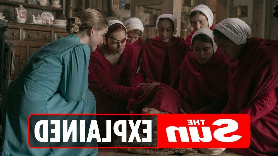 What year is The Handmaid's Tale set in?