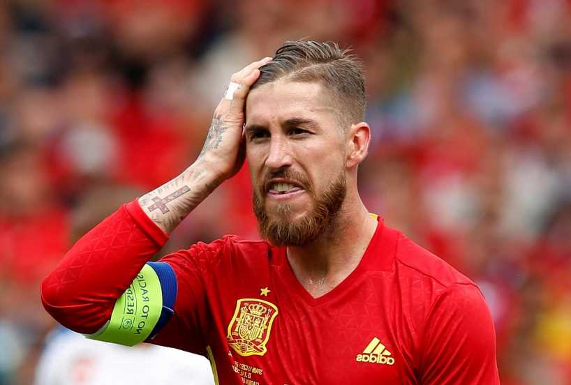 Why is Sergio Ramos not playing for Spain at Euro 2020 this summer?