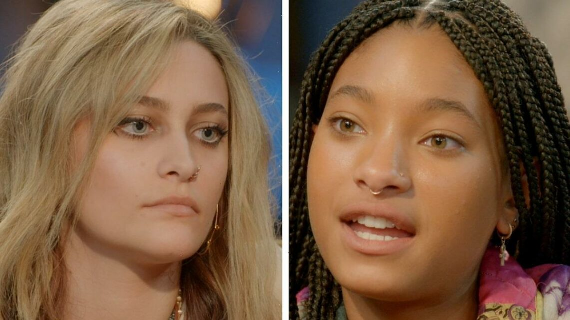 Willow Smith Interviews 'Longtime Friend' Paris Jackson In Red Table Talk Preview (Exclusive Video)