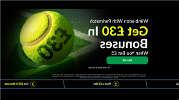 Wimbledon betting special: Get £30 in free bets when you bet a fiver with Parimatch