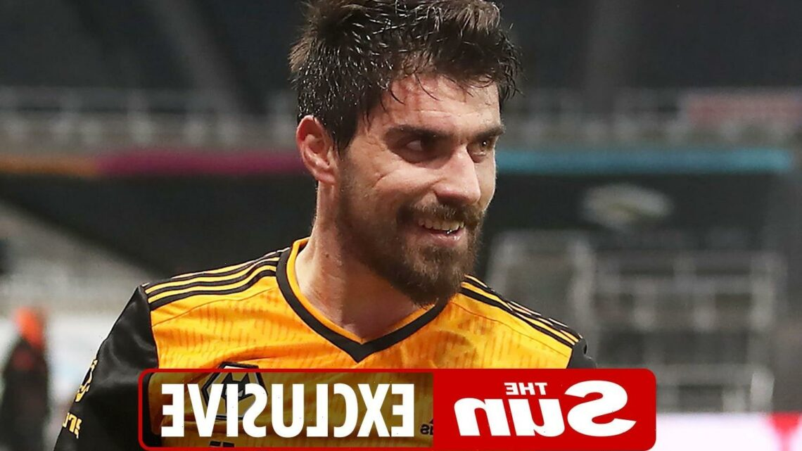 Wolves will listen to offers for £35million Arsenal transfer target Ruben Neves AND Joao Moutinho this summer