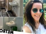 Woman transforms 'rotting' house into modern home worth over £157k more