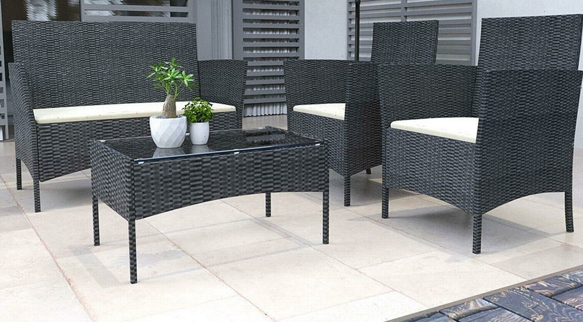 Wowcher launches garden furniture deal and you can get a Rattan set for less