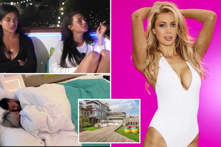 'Boarding school meal-times', unsociable smoking and condoms on tap – Olivia Attwood reveals Love Island secrets