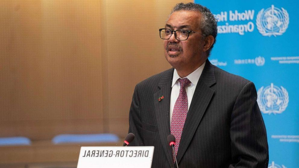 'Time has come' for pandemic treaty, WHO chief says