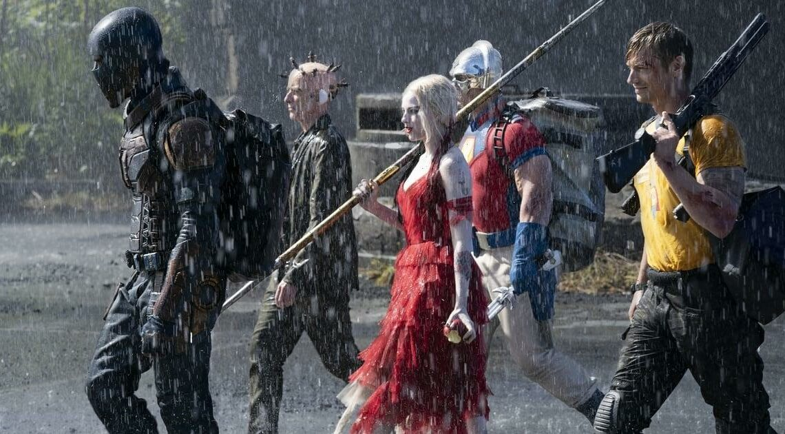 A Hose, Kiddie Pool, and Other Products The Suicide Squad's Makeup Team Used On Set