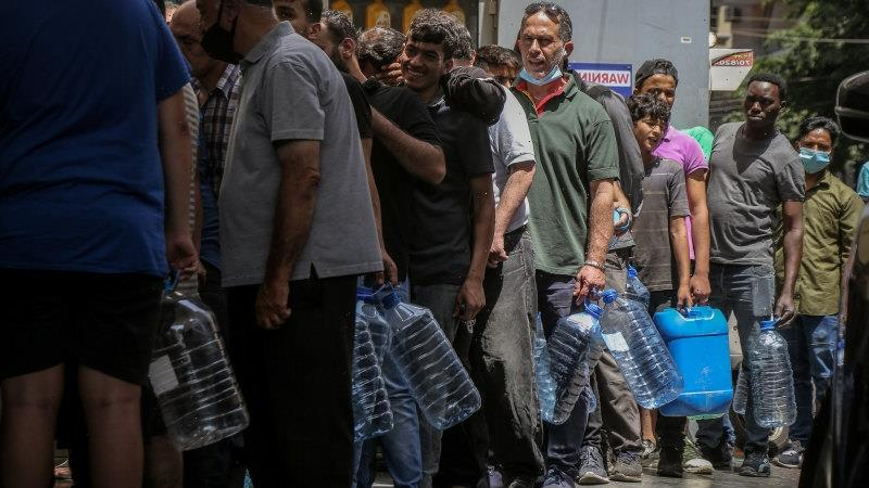 A country running on empty: Lebanon suffers medicine, fuel shortages