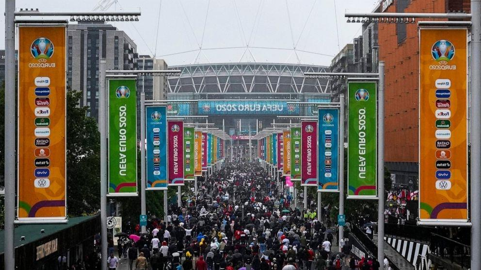 AP PHOTOS: British sports fans making up for lost time