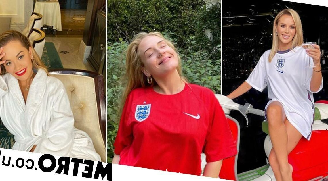 Adele leads celebs cheering up England after Euro 2020 loss