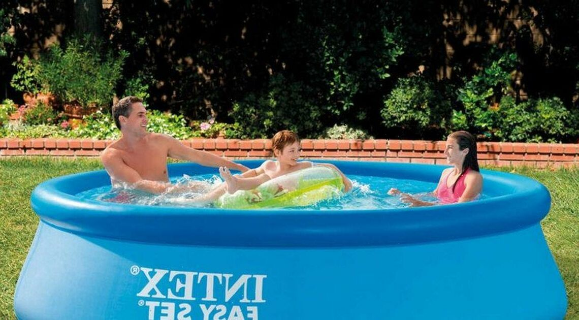Aldi is selling a 10ft paddling pool for only £30 and it's perfect for the heatwave