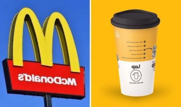 All about convenience McDonalds rolls out reusable cup scheme – launching in Tesco too