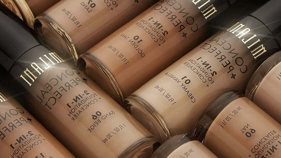 """Amazon Shoppers Swear by This $9 Drugstore Foundation for a Full-Coverage Look That """"Doesn't Melt in The Heat"""""""